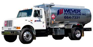 Wever Petroleum truck